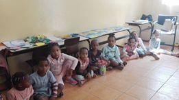 Noël des enfants 2017 à Romainville – Distribution des cadeaux à Sao Vicente