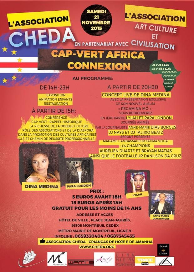 Journée CAP VERT AFRICA CONNEXION-organisé par CHEDA ET ART CULTURE ET CIVILISATION