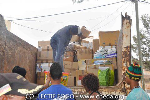 Collectif FOGO – Envoi de contenaire pour les déplacés de FOGO