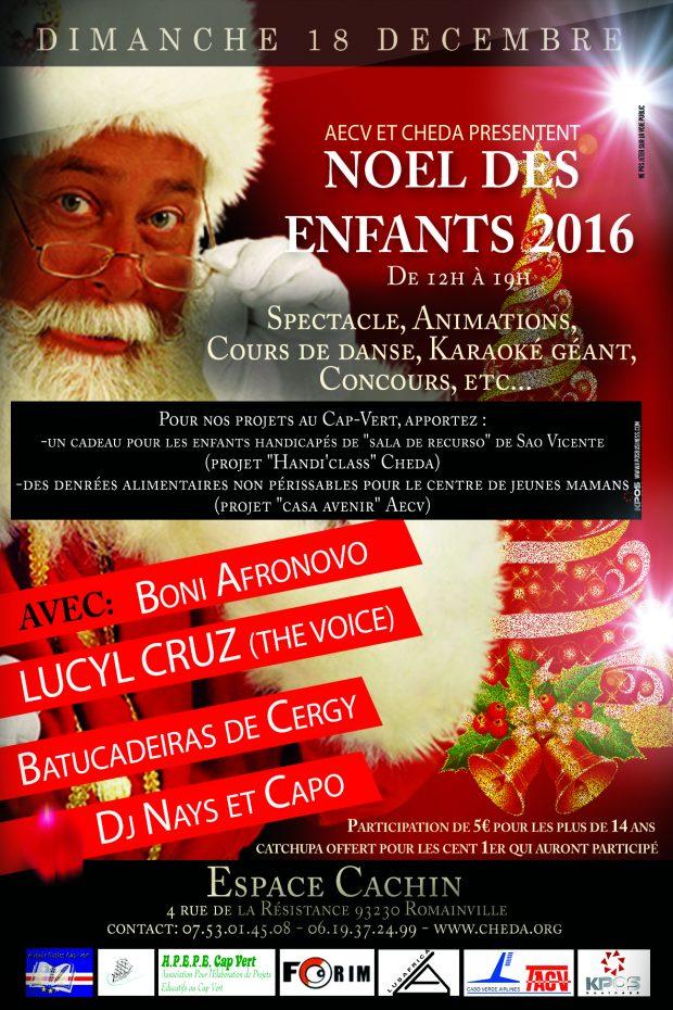 NOEL DES ENFANTS 2016 !!! avec AECV